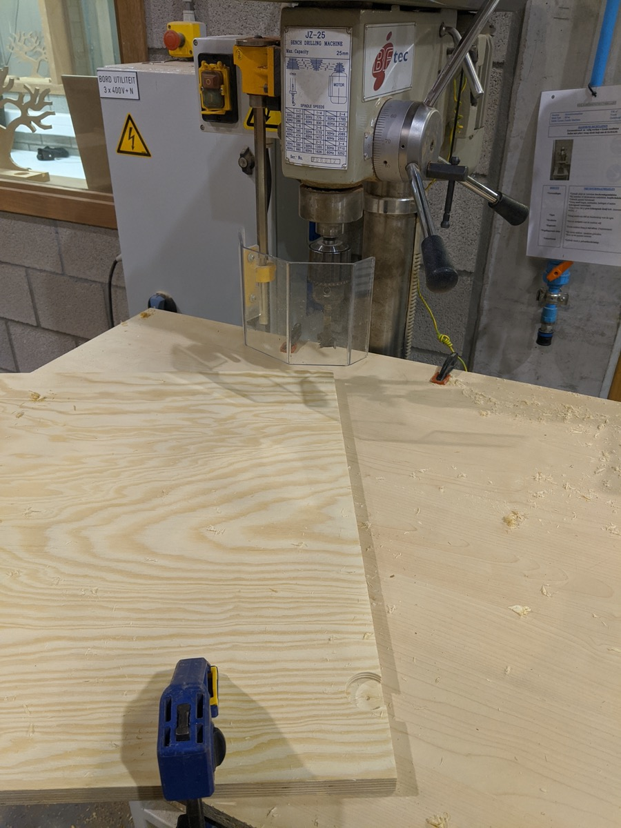 Drill press to the rescue